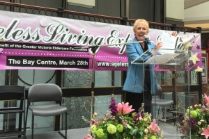 Dr. Diana at Ageless Living Expo, March 28, 2015